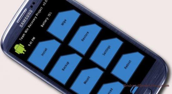 Установка кастомного TWRP рекавери на любой Samsung Galaxy (смартфон или планшет, подробная инструкция)