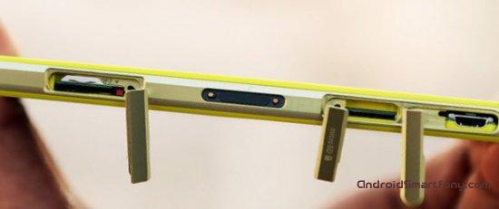 Как поменять заглушки на Sony Xperia Z