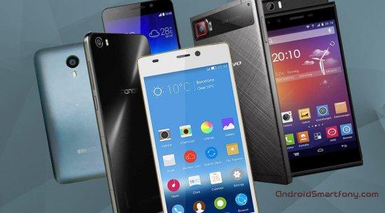 Лучшие китайские смартфоны конца 2015 года