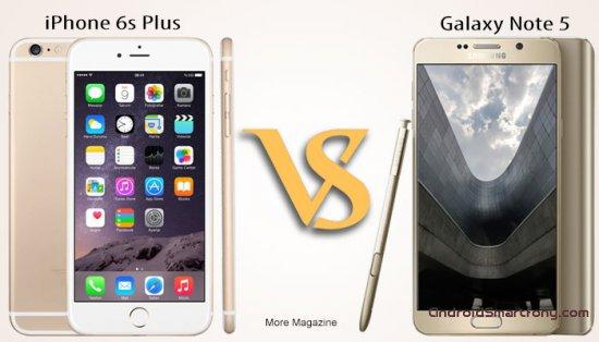 Сравнение Samsung Galaxy Note 5 vs iPhone 6S Plus: что лучше выбрать?
