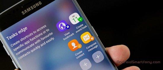 Galaxy S7 Edge фото интерфейса