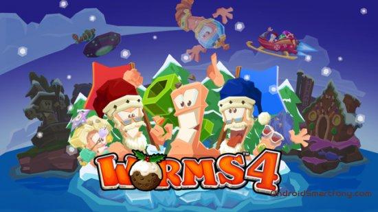 скачать Worms 4 для андроид