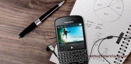 Hard Reset BlackBerry Q10 - восстановление и сброс настроек