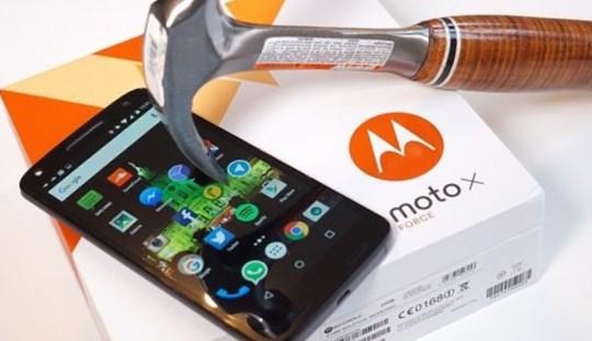 Обзор Motorola Moto X Force - очень прочный экран и топовое «железо»