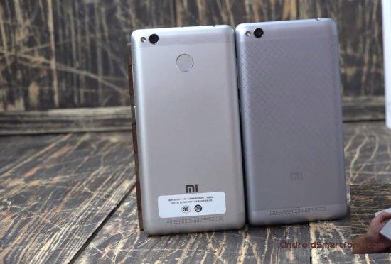 Xiaomi Redmi 3 Pro vs Redmi 3