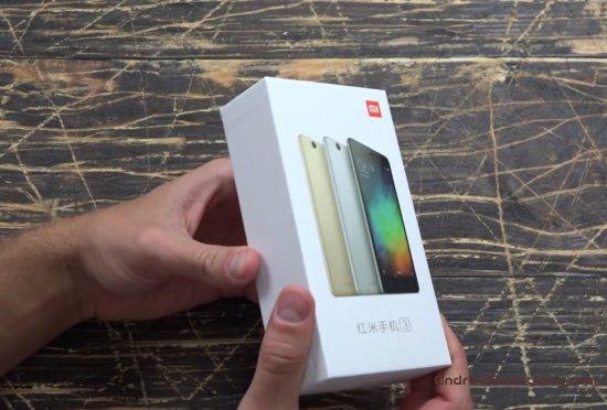 упаковка Xiaomi Redmi 3 Pro фото