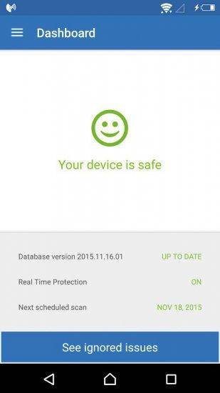 скачать бесплатный антивирус на андроид Malwarebytes Anti-Malware