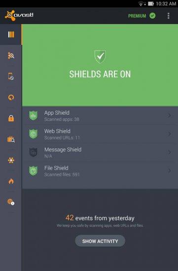 Mobile Security & Antivirus - бесплатный антивирус андроид на русском языке