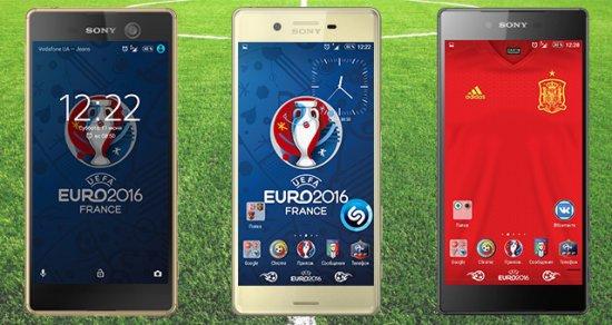 Темы, иконки и обои для андроид на футбольную тематику к Euro 2016