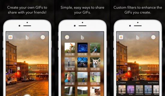 BurstKey для iPhone