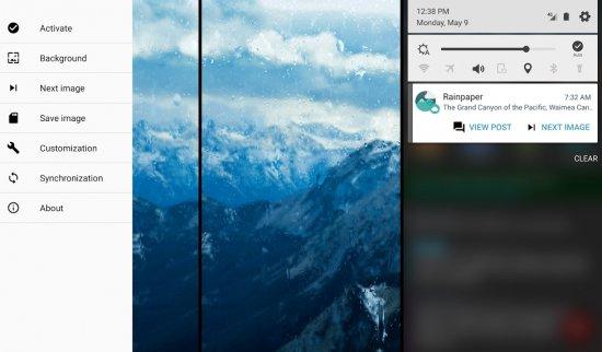 Rainpaper для Android