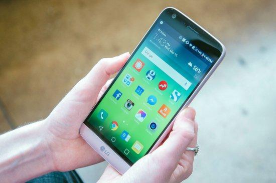 7 место в рейтинге лучших смартфонов 2016 - LG G5