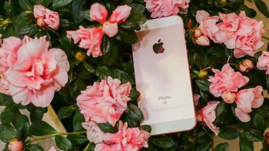 смартфон в металлическом корпусе Apple iPhone SE