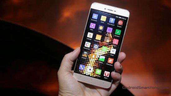 тонкий металлический смартфон Blu Vivo 5
