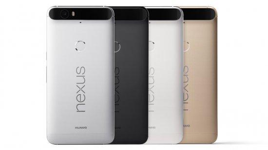 Google Nexus 6P - почетное место в рейтинге лучших смартфонов 2016