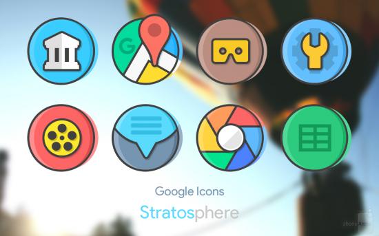 скачать иконки для андроид Stratos