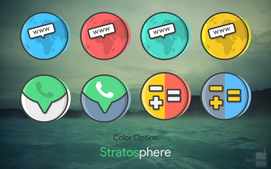Stratos - скачать иконки для андроид