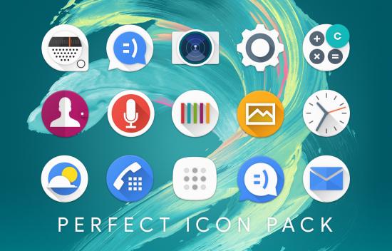Perfect иконки меню андроид