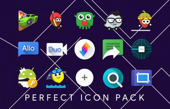 иконки меню андроид Perfect
