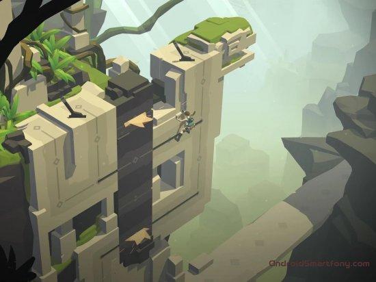 скачать головоломку на андроид Lara Croft GO