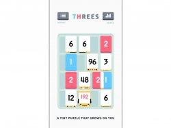 скачать логические игры на андроид и ios Threes