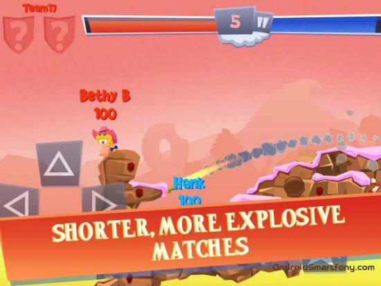 лучшие головоломки на андроид Worms 4