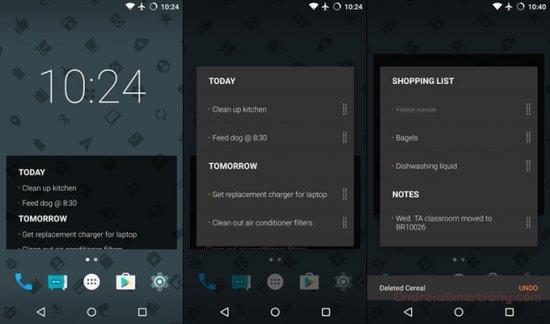 Лучшие виджеты на Android за октябрь 2016