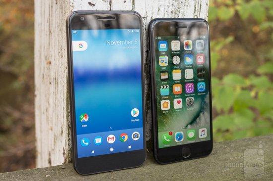 Сравнение смартфонов: Google Pixel vs Apple iPhone 7