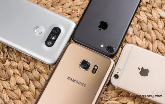 Смартфоны 2016 года с самой быстрой подзарядкой