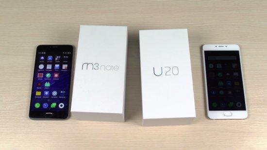 Meizu M3 Note vs Meizu U20: дуэль лучших бюджетников компании