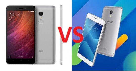 Meizu M5 Note vs Xiaomi Redmi Note 4 - какой вариант лучше?