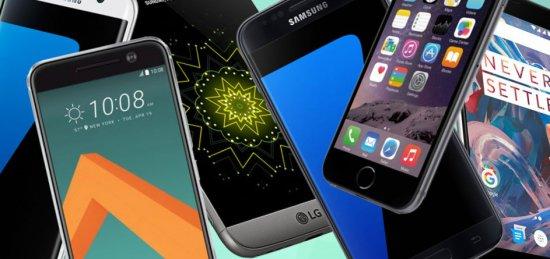 10 лучших смартфонов для Новогодних подарков 2016