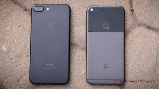 5 причин выбрать смартфон Google Pixel XL вместо Apple iPhone 7 Plus