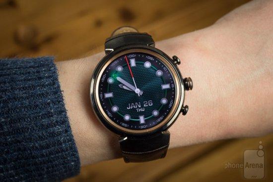 Обзор ASUS ZenWatch 3 - стильные умные часы