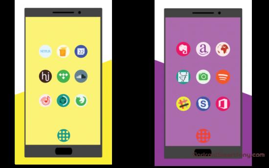 Лучшие паки иконок на Android за март 2017. Часть 2