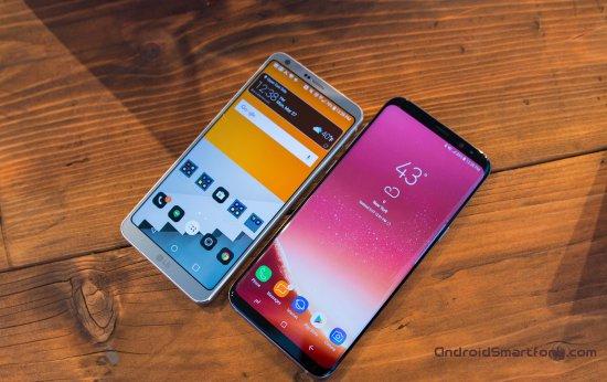 Samsung Galaxy S8 Plus vs LG G6