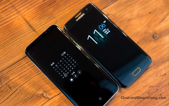 Samsung Galaxy S8 Plus vs Samsung-Galaxy S7 Edge