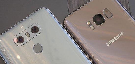 Samsung Galaxy S8 vs LG G6: противостояние длинных экранов
