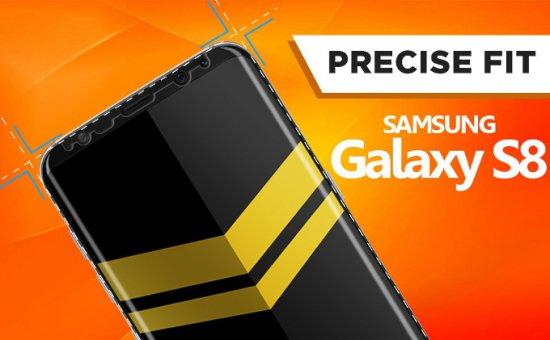 Лучшие защитные плёнки и стёкла для экранов Samsung Galaxy S8 и S8+