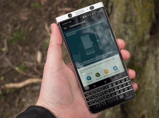 blackberry keyone обзор