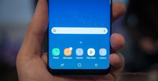 Как изменить цвет панели навигации смартфонов Samsung Galaxy S8 и S8+