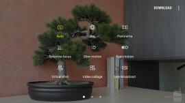 интерфейс камеры Galaxy Note 5
