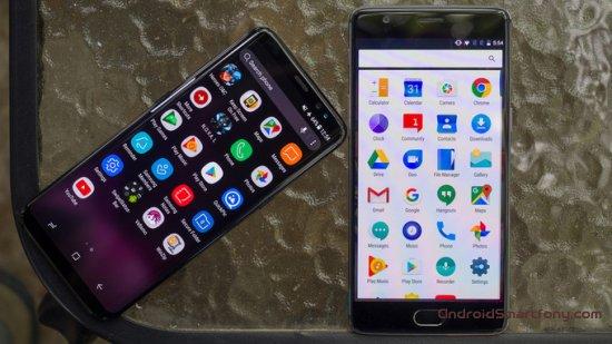 Сравнение Samsung Galaxy S8 vs OnePlus 3T - какой из них лучше?