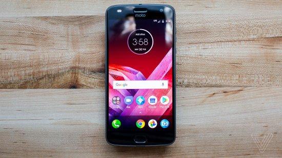 Обзор Motorola Moto Z2 Play - отличная автономность и чистый Android