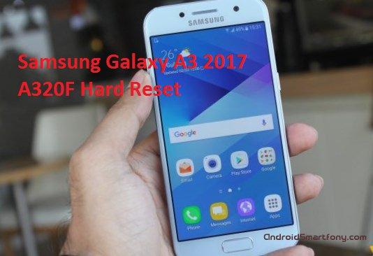 Hard Reset Samsung Galaxy A3 2017 SM-A320F - сброс настроек, пароля, графического ключа