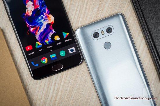 Сравнительный обзор смартфонов OnePlus 5 vs LG G6