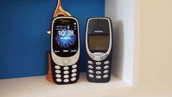 Nokia 3310 (2017) - новый двухсимочный телефон от известного брэнда
