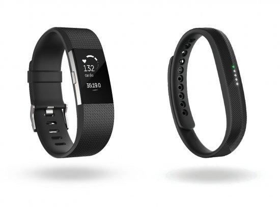 Fitbit Charge 2 и Fitbit Flex 2