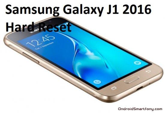 Hard Reset Samsung Galaxy J1 2016 - сброс настроек, пароля, графического ключа