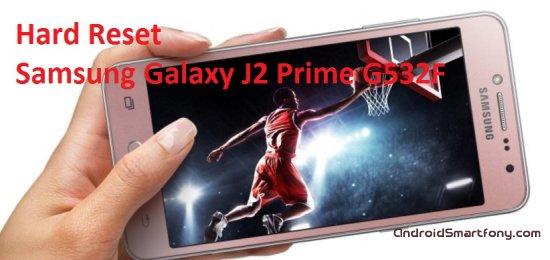 Hard Reset Samsung Galaxy J2 Prime G532F - сброс настроек, пароля, графического ключа